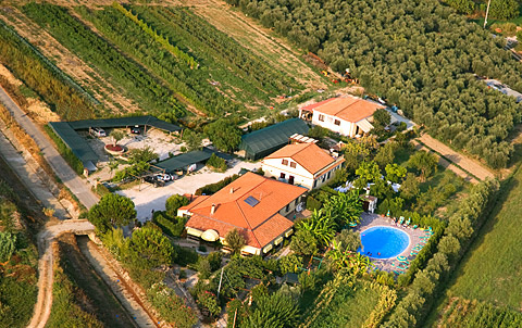 Farmhouse La Fattoria in Cilento